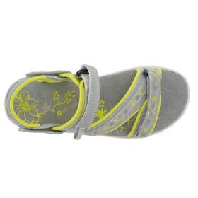 Hi-Tec Soul-Riderz Life Strap Sandals Women Cool Grey/Canary